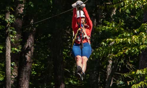 1 Hour Zipline Tour