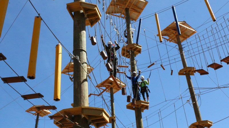 Blue Ridge Aerial Challenge Adventure Park